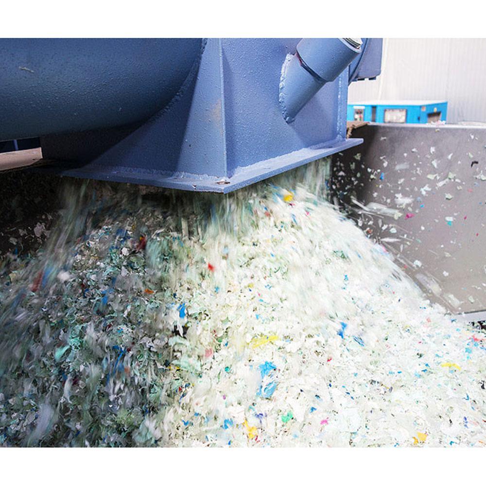 Maskiner for plastgjenvinning fra Herbold og Shini