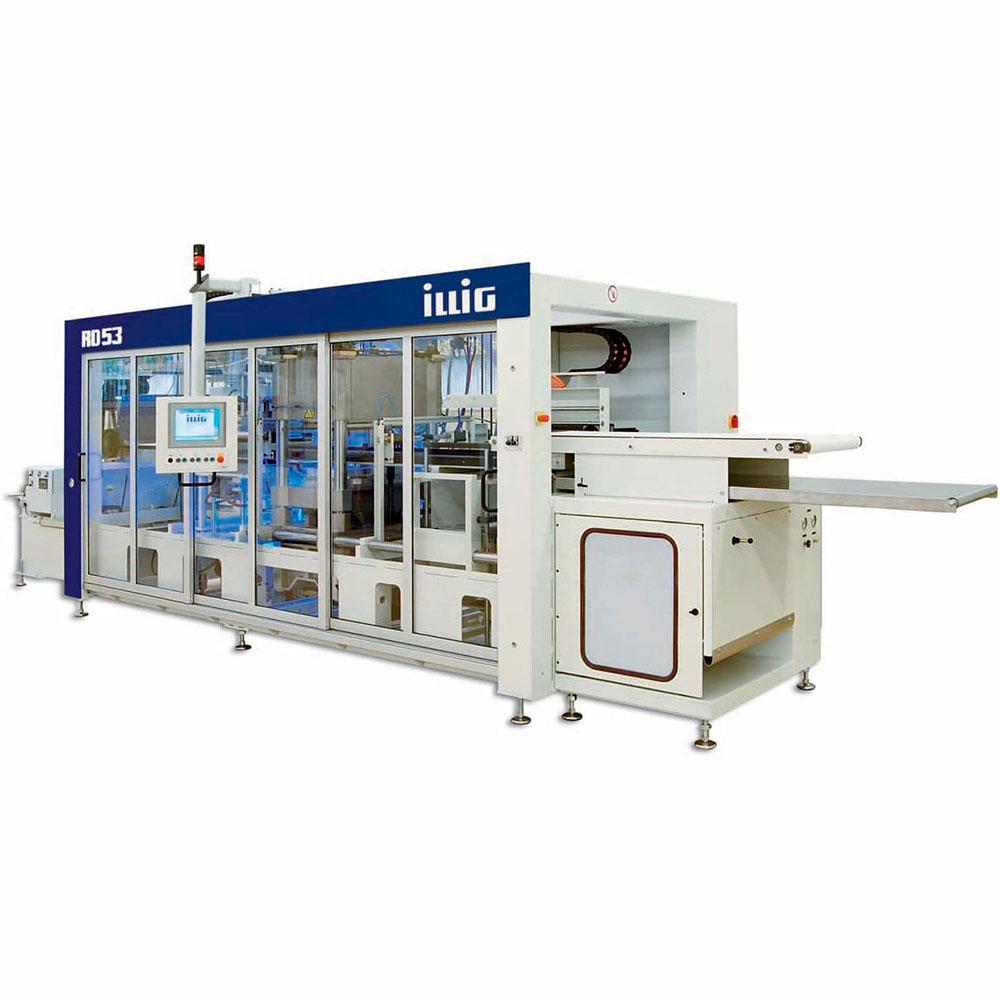 Produkter for innpakning og thermoforming fra Illig